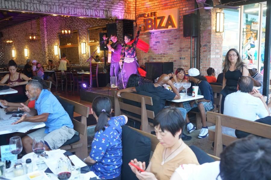 フォートローダーデール カフェ Cafe Ibiza