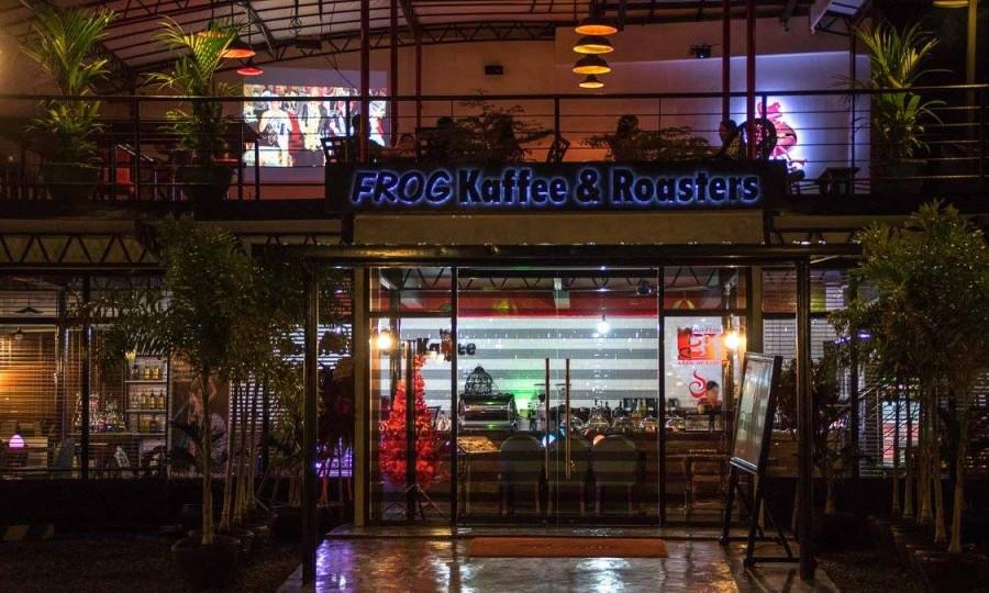 ダバオ カフェ FROG Kaffee(フロッグカッフェー)