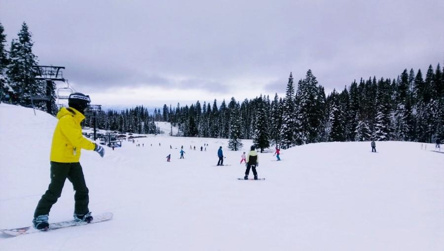 クイーンズタウンのスキー場