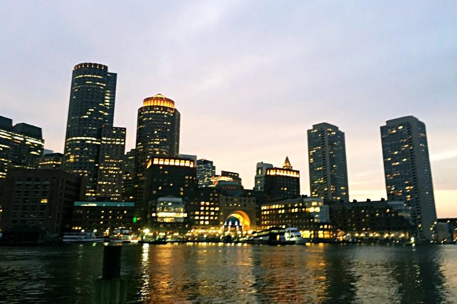 ボストンの夜景