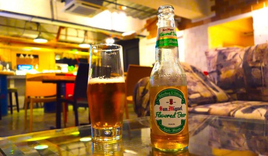 フィリピンのビール サンミゲル アップル