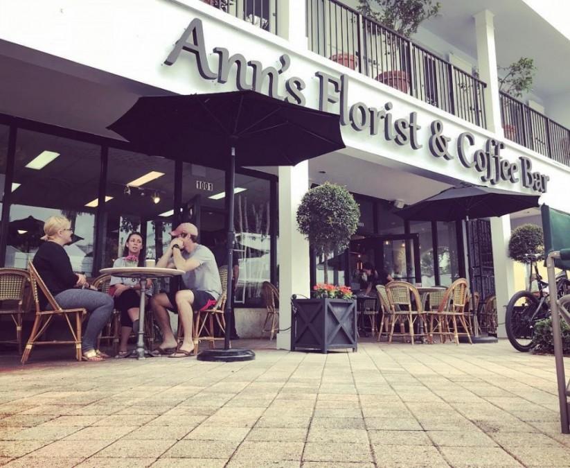 フォートローダーデール カフェ Ann's Florist and Coffee Bar