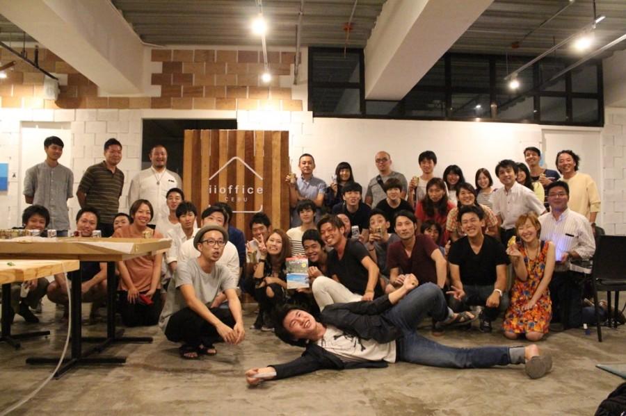CEBU Media Meetup 集合写真