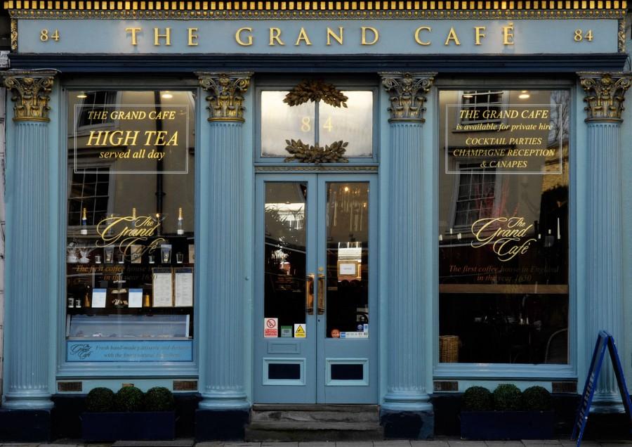 オックスフォード カフェ The Grand Cafe(ザグランカフェ)