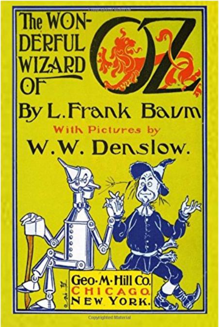 英語児童書「オズの魔法使い」