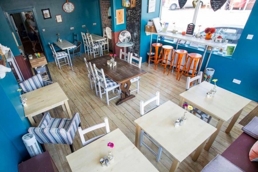 ボーンマス カフェ Fresh Edge Cafe(フレッシュエッジカフェ)