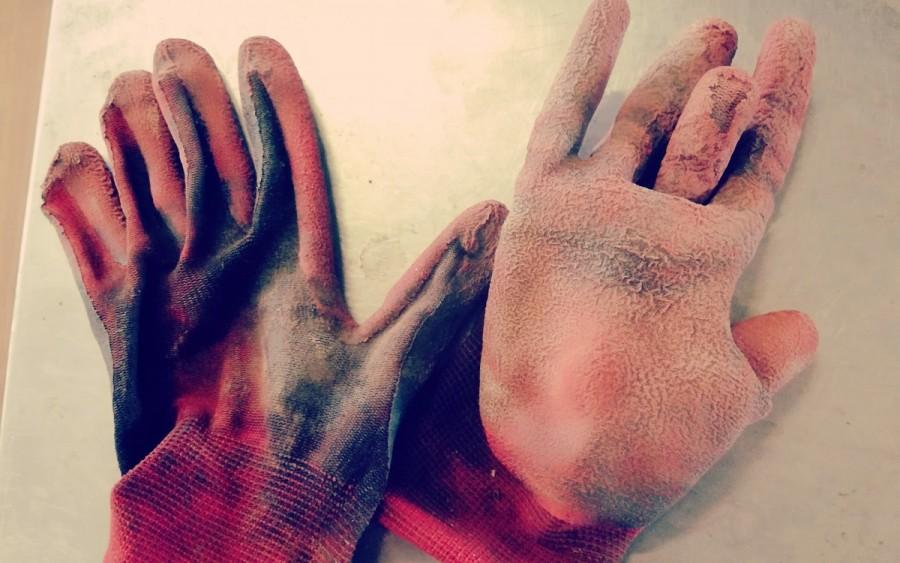 バナナファームで必要なモノ「手袋」