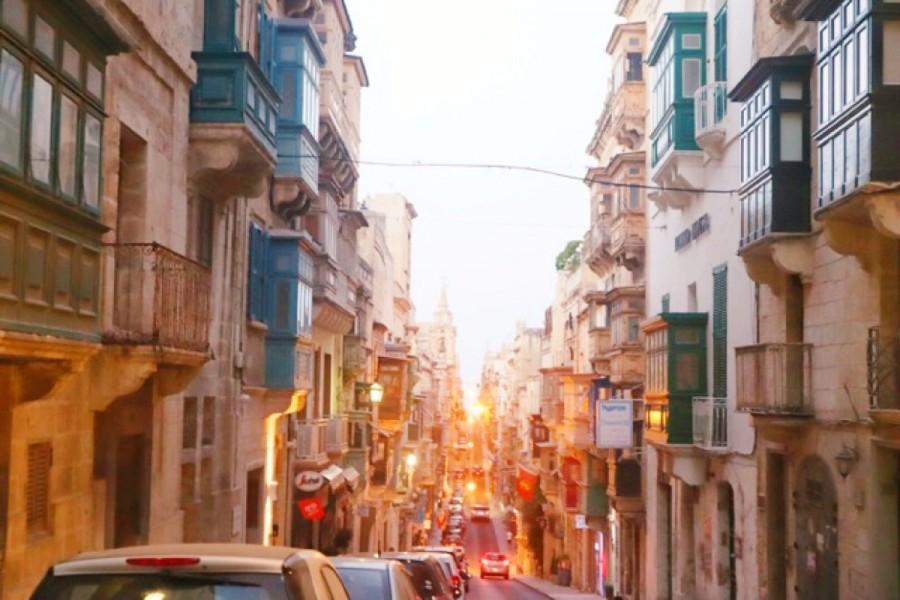 マルタの街並み