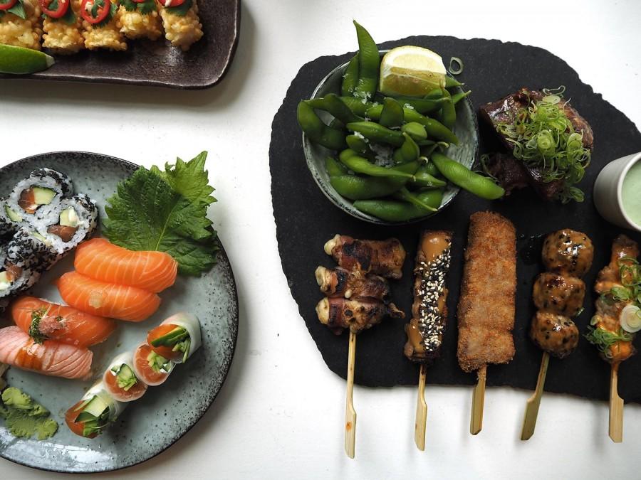 ケンブリッジ レストラン Sticks'N'Sushi(スティックエヌスシ)