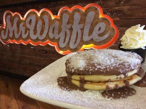 ゴールウェイ カフェ Mr. Waffle