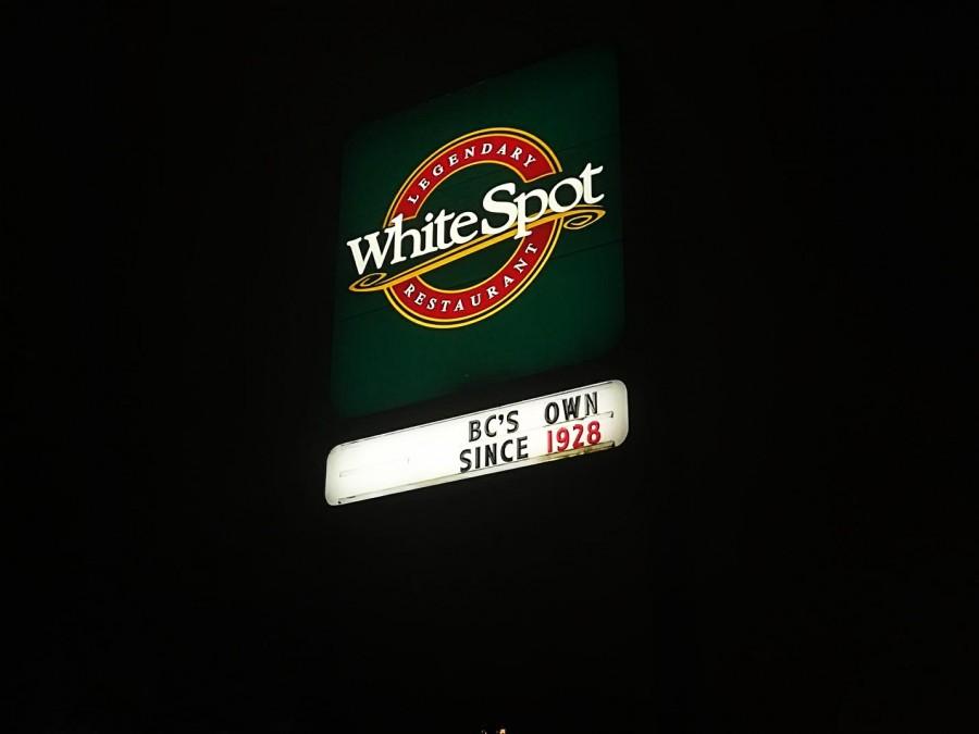 バンクーバー  レストラン White Spot(ホワイトスポット)
