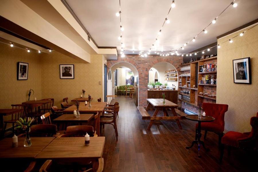 モントリオール カフェ Cafe Aunja(カフェ・アウンジャ)
