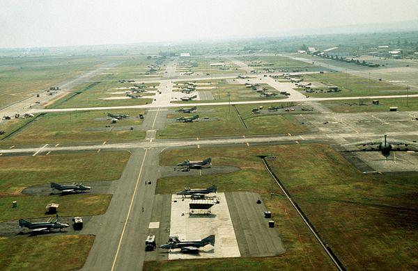 クラークの米軍基地