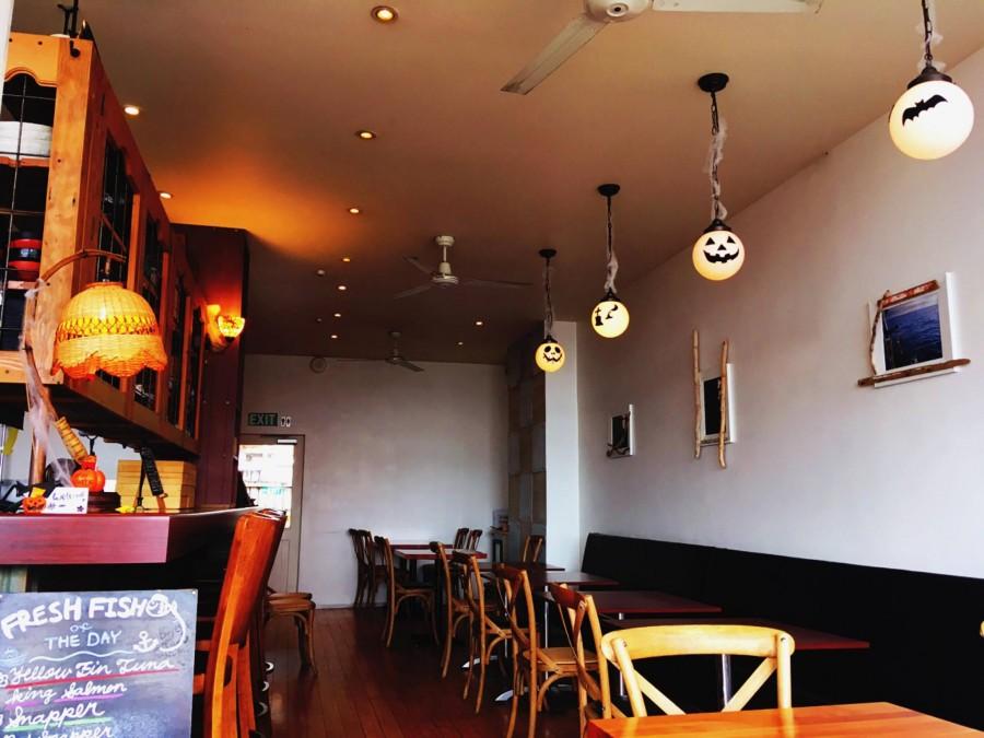 オークランド レストラン SakeBarIcco