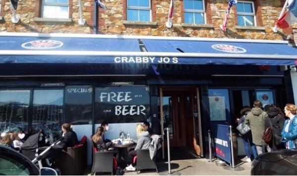 美味しいフィッシュ&チップスが食べられるCRABBY Jo's