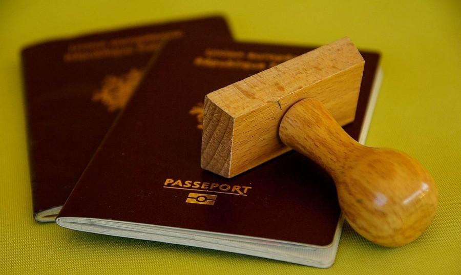 入国審査 パスポート