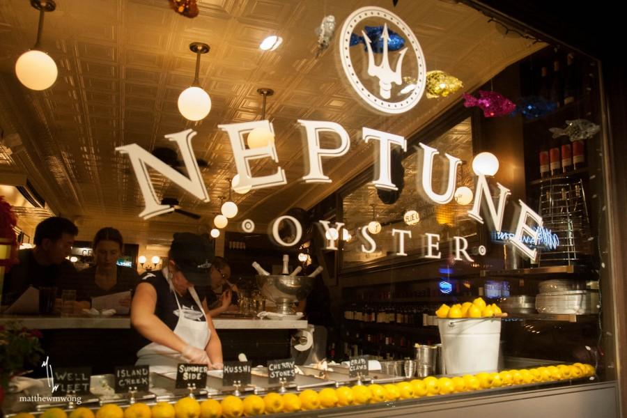 ボストン レストラン Neptune Oyster(ネプチューンオイスター)