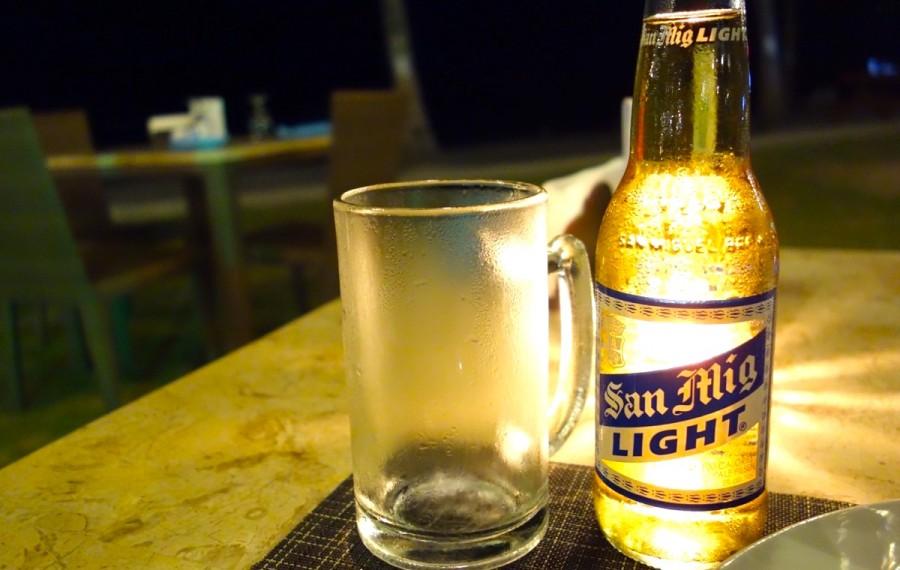 フィリピンのビール サンミゲルライト