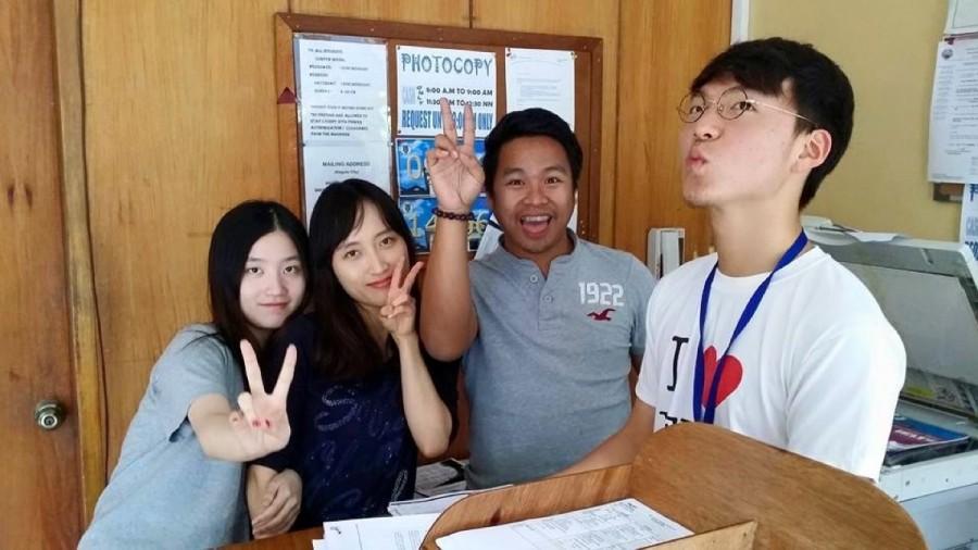 HELP マーティンス校に留学中の様子