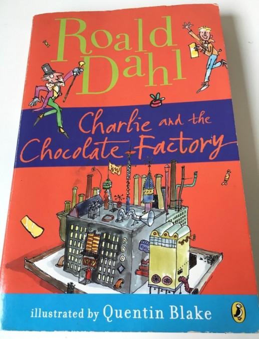 英語児童書「チャーリーとチョコレート工場」