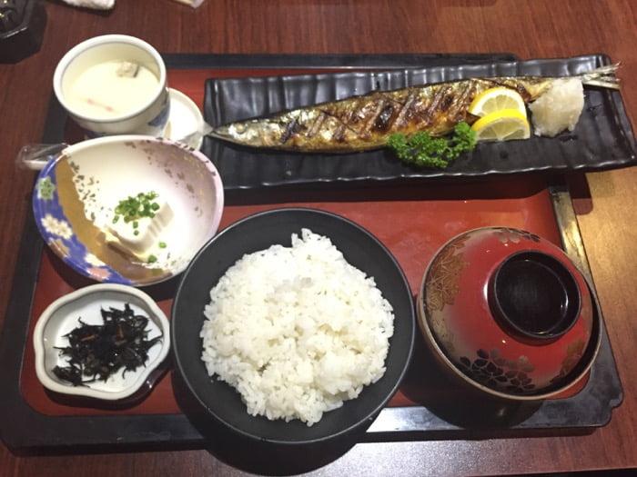 日本食の内容