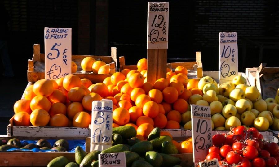 ダブリンのマーケット