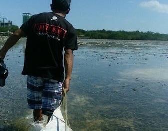 フィリピン人漁師