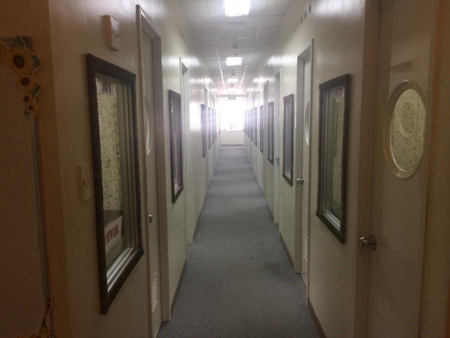 7階の廊下