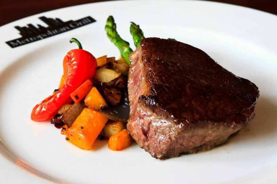 シアトル レストラン Metropolitan Grill(メトロポリタン・グリル)