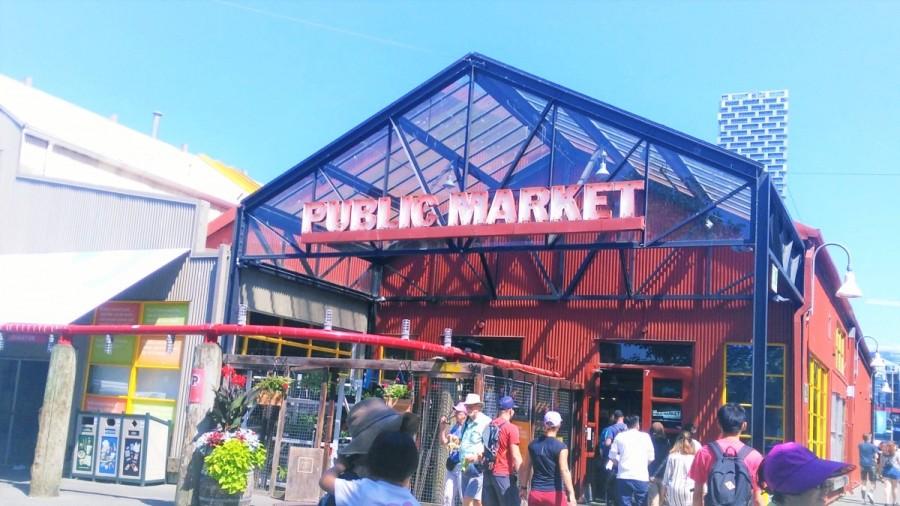 バンクーバーのマーケット