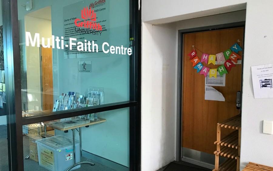大学寮のエリアの一角にある Multi-Faith Centre(多宗教センター)