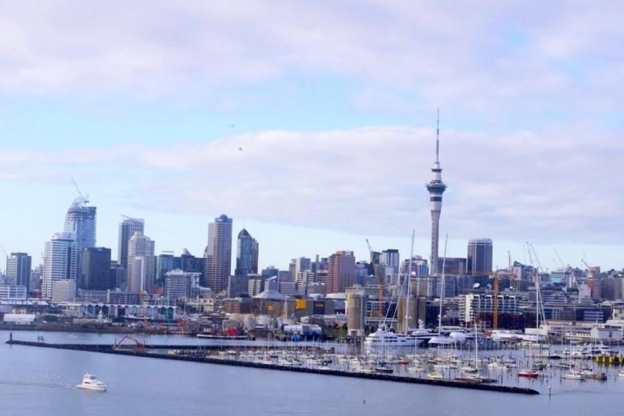 ニュージーランド・オークランドの様子