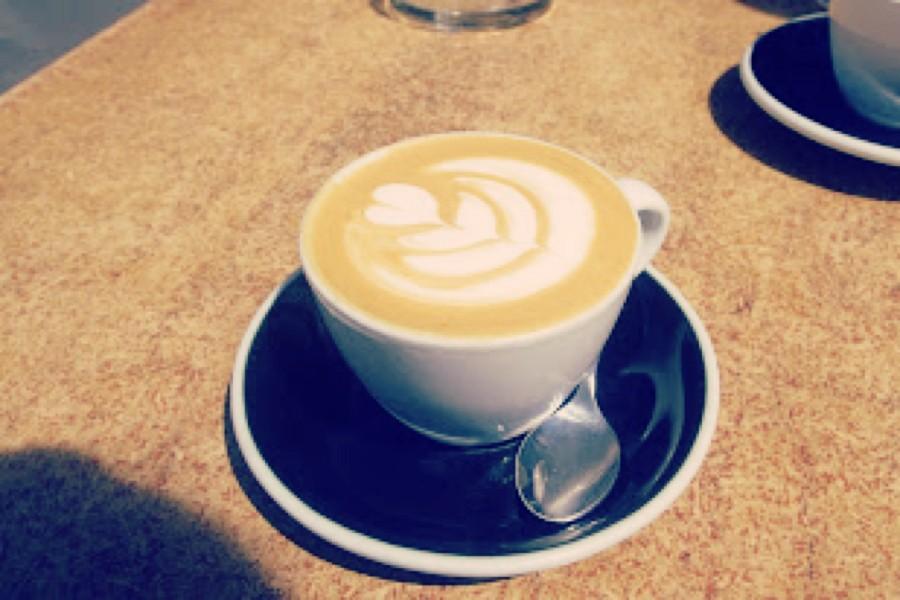 ウェリントンのカフェ