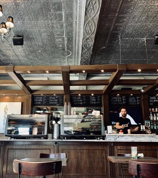 モントリオール カフェ Café Olimpico(カフェ・オリンピコ)