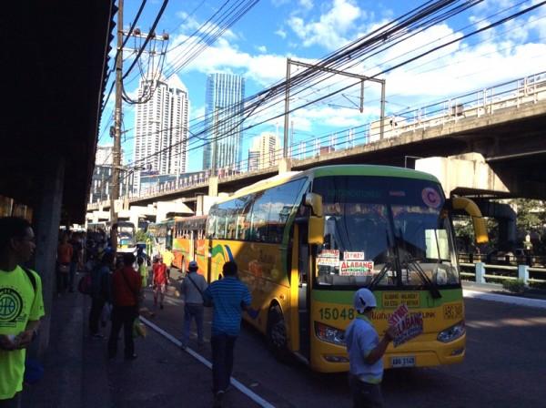 フィリピン・マニラのバス