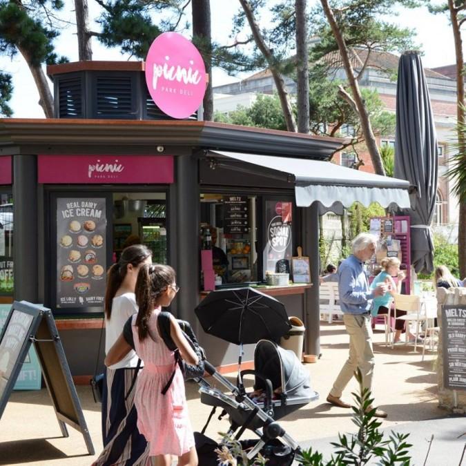 ボーンマス カフェ Picnic Park Deli