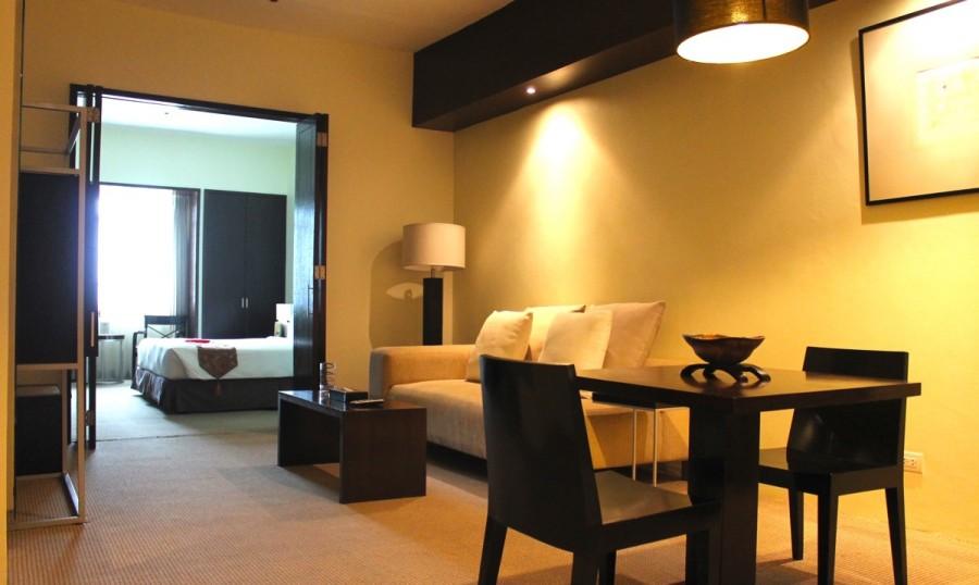 ウォーターフロントセブシティホテル&カジノのJUNIOR SUITE ジュニオ・スイートルーム