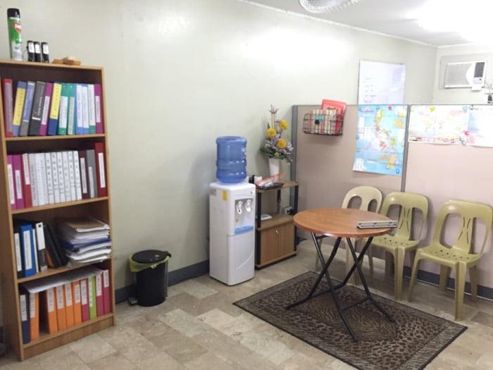 Annex 1 と呼ばれる教室