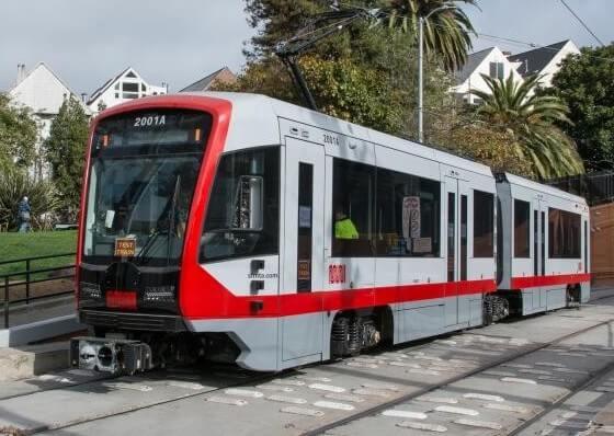 サンフランシスコの鉄道