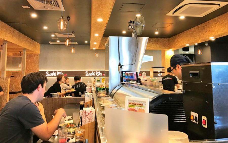 サニーバンクの日本食レストラン