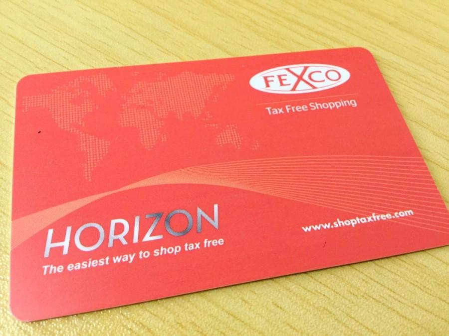 FEXCO社「HORIZON」カード