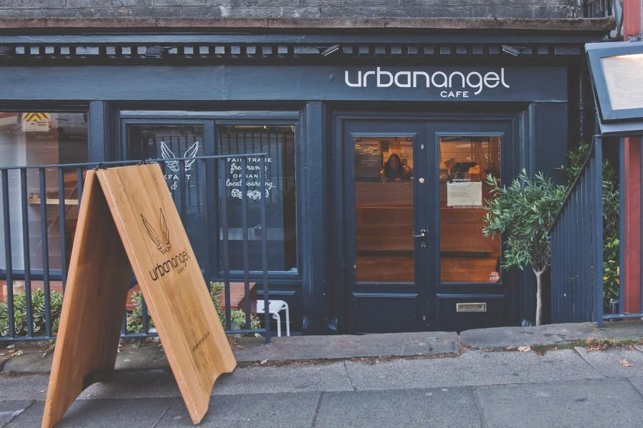エディンバラ カフェ Urban Angel