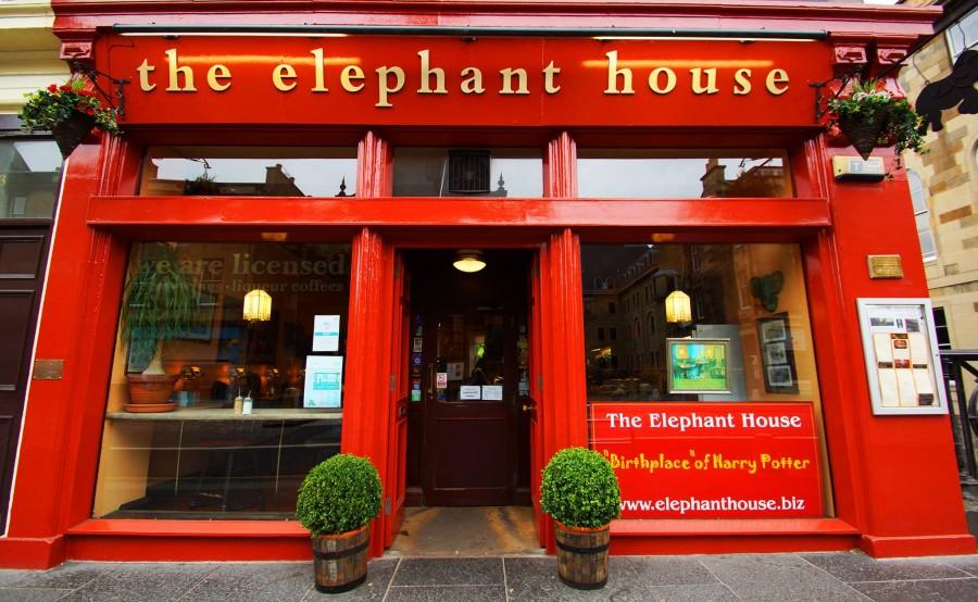 エディンバラ カフェ The Elephant House