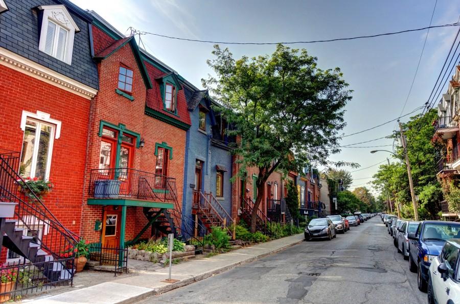 カナダ・モントリオールの町並み