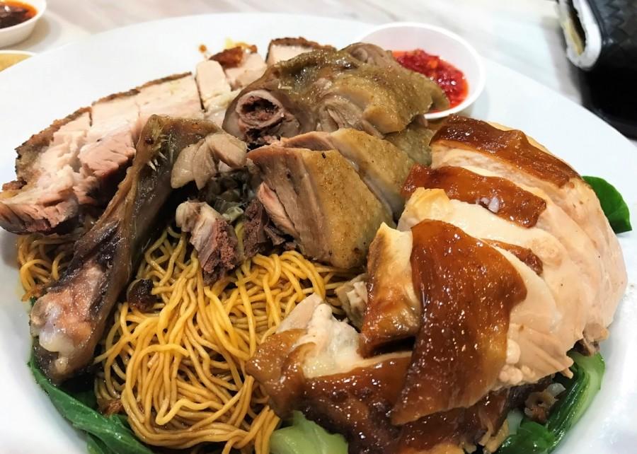 サニーバンクの香港料理店