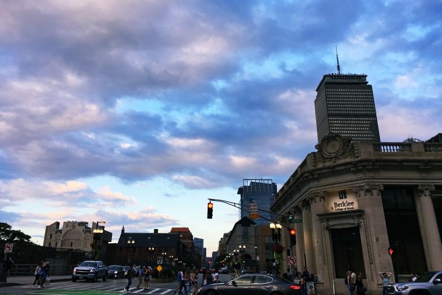 アメリカ・ボストンの街並み