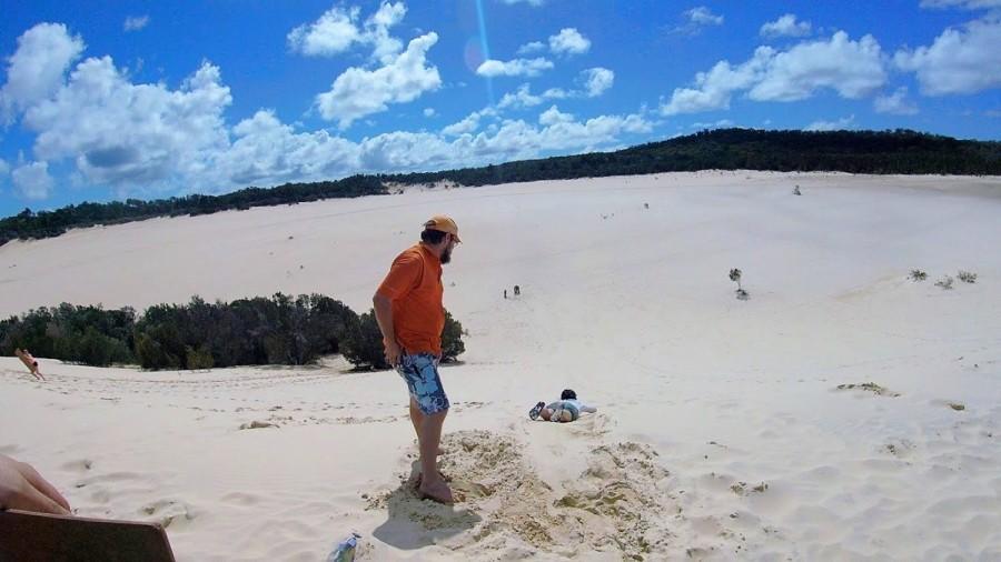 モートン島の砂丘