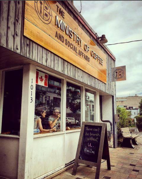 オタワ カフェ The Ministry of Coffee(ザ ミニストリーオブコーヒー)