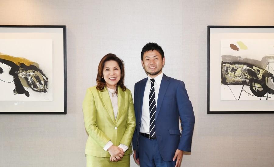 フィリピン観光省テオ大臣との意見交換会後の写真