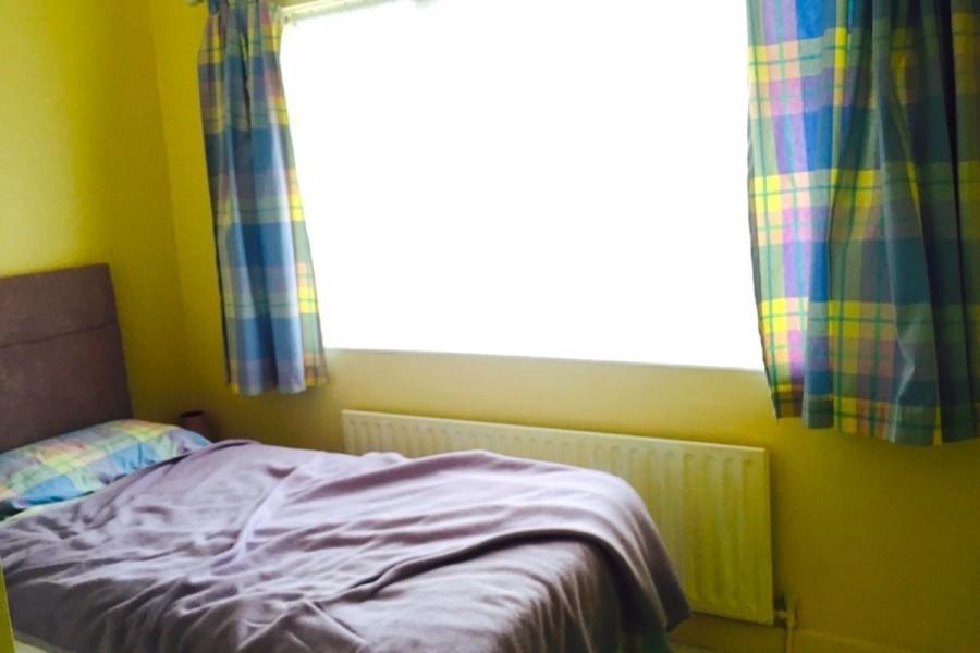 アイルランドのホームステイ先の部屋